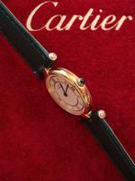 Cartier Ladies Vendome Wristwatch Green Strap (2 of 3)