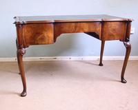 Antique Quality Burr Walnut Writing Desk (4 of 13)