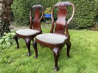 Pair of George I style chairs (8 of 8)