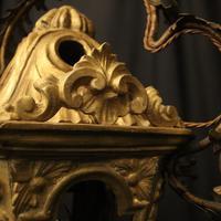 Italian Florentine Giltwood 19th Century Antique Lantern (5 of 10)