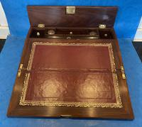 William IV Rosewood Lap Desk with Mother of Pearl Inlay (10 of 12)