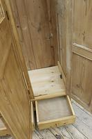 Lovely Old Antique Pine Triple 'knock down' Wardrobe - We Deliver / Assemble (8 of 8)