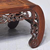 Qing Period Chinese Rosewood & Burr Wood Low Table (5 of 8)