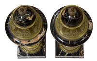A Pair of Marble & Gilt Metal Urns (2 of 5)