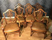 Quality Set of Eight Mahogany Dining Chairs (9 of 18)