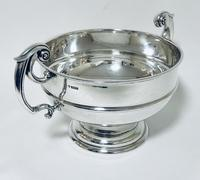 Large Antique Solid Silver Punch Bowl (3 of 12)