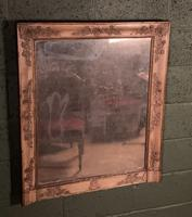 Empire Period Distressed Painted Foxed Plate Mirror (6 of 10)