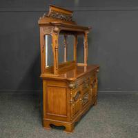 Late Victorian Mahogany Sideboard (18 of 19)