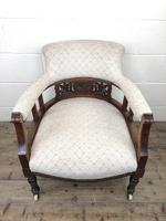 Pair of Victorian Mahogany Tub Chairs (9 of 17)