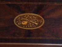 Antique Sheraton Style Inlaid Mahogany Display Cabinet (16 of 18)