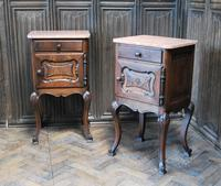 Pair of Substantial Oak Bedside Cabinets (2 of 9)