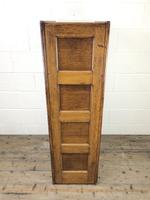 Antique Oak Four Drawer Filling Cabinet (12 of 12)