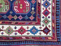 Antique Caucasian Talish Long Rug (3 of 10)