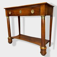 Early 19th Century French Empire Console Table (2 of 13)