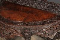 19th Century Burmese Carved Console Table (9 of 16)