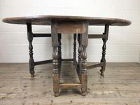 18th Century Oak Gateleg Table (5 of 10)