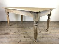 Antique Pine Farmhouse Style Kitchen Table (9 of 13)