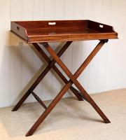 Late 19th Century Mahogany Butlers Tray (2 of 9)
