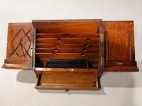 Beautifully Figured Late 19th Century Golden Oak Writing Box (6 of 8)