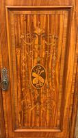 Inlaid Satinwood Bedside Cupboard (4 of 11)