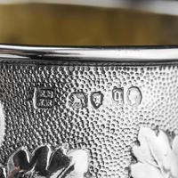Antique Victorian Solid Silver Beaker / Cup with Superb Naturalistic Grapevine Design - Barnard 1871 (16 of 16)