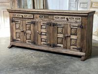 Rustic Oak Spanish Sideboard (3 of 13)