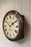 Mahogany Fusee Dial Clock (10 of 19)