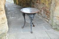 Victorian Copper Top Cast Iron Pub Table