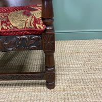 Quality Antique Oak Wainscot Chair (7 of 10)