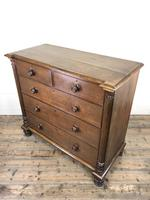Large Antique Oak Chest of Drawers (6 of 12)