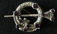 Vintage Silver Tara Brooch (4 of 6)