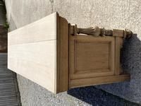 Wonderful Art Nouveau Bleached Oak Sideboard (7 of 26)