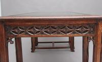 19th Century French Oak Desk in the Gothic Style (14 of 17)