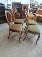 4 Victorian Walnut Chairs (2 of 5)