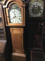 Cornish Pine 8 Day L. C clock owned by Footballer & Beverley Sisters (2 of 11)