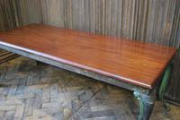 Antique French iron coffee table (4 of 6)