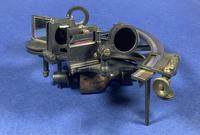 Victorian Brass Sextant In It's Original Mahogany Box. (12 of 18)