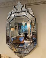Engraved Venetian Mirror (3 of 3)
