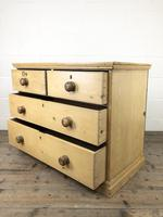 Small Victorian Antique Pine Chest of Drawers (11 of 15)