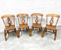 Set of 4 Fine Quality Windsor Lyreback Chairs (6 of 7)