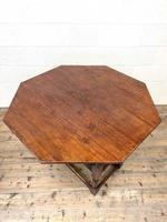 Large Early 20th Century Antique Oak Monk's Seat (9 of 10)