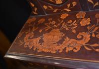 Antique Dutch Marquetry Vanity Hat Stand - Mirror (7 of 19)