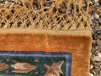 Vintage Chinese Silk Carpet 2.43m x 1.59m (10 of 11)