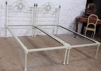 Pretty Pair of Single Victorian Beds (4 of 10)