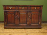 Solid Georgian Style Oak Dresser Base Sideboard by Titchmarsh & Goodwin (3 of 22)