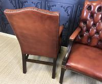 Gainsborough Style Desk Chairs c.1930 (8 of 11)