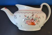 18th Century New Hall  Boat-shaped Teapot (3 of 5)