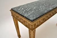 French Giltwood Marble Top Coffee Table c.1930 (6 of 8)