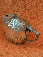 Antique Sterling Silver Hallmarked Mustard Pot 1897 Fenton Brothers Ltd,   Sheffield (2 of 11)