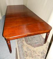 Large Regency Mahogany Concertina Action Dining Table (7 of 9)
